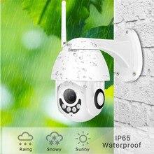FHD 1080P WIFI IP Camera H.265 Speed Outdoor Wireless Wired Dome CCTV Security Cameras PTZ IR Video Surveillance IP66 Waterproof цены