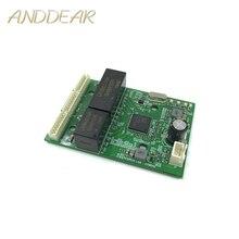 Mini PBCswitch modulo PBC OEM modulo mini size3Ports Switch di Rete Pcb Bordo di mini modulo switch ethernet 10/100/ 1000 Mbps