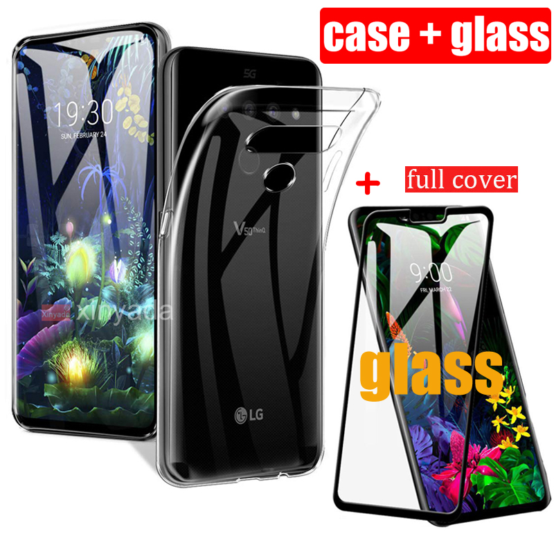 Clear Case For LG G8 V50 ThinQ V50 G8 Thin Q G8s 5G Case Cover Soft Silicone Gel TPU Bumper luxury protective Shell coque