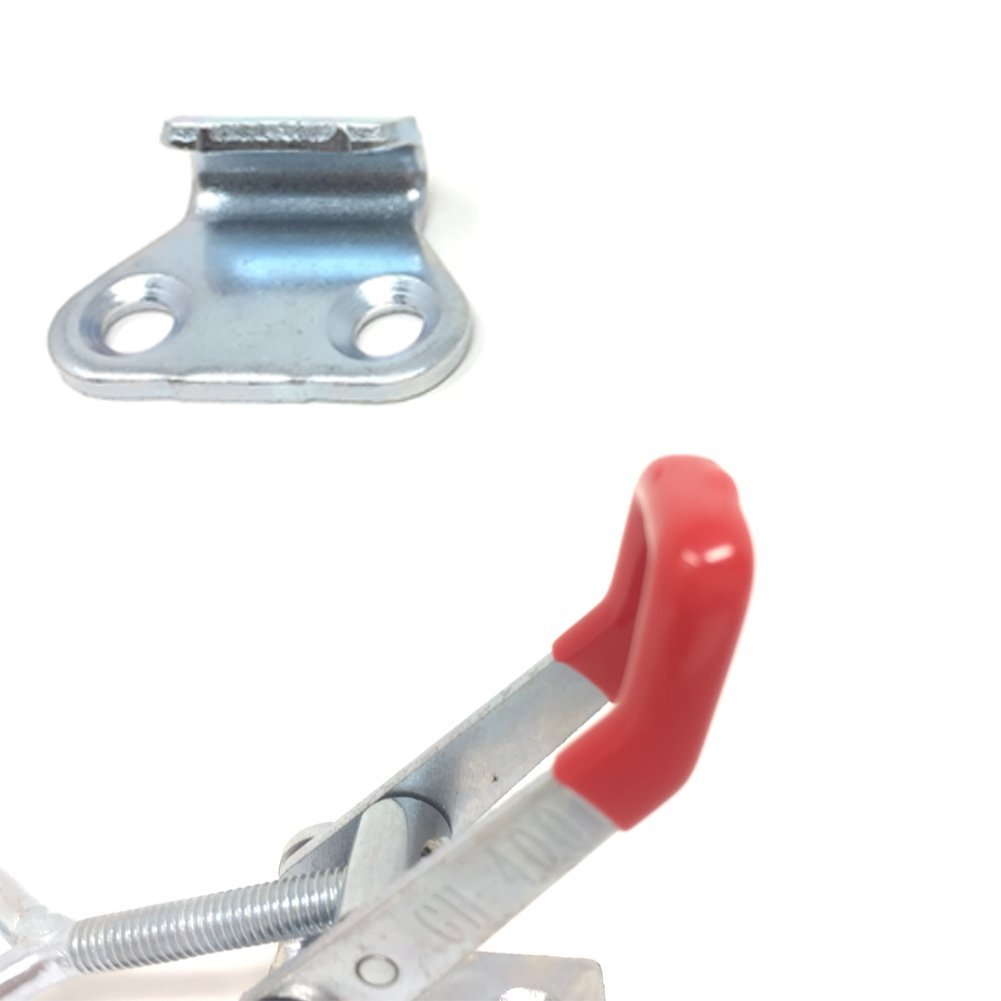 8PCS Toggle Clamp 4001 Heavy Duty Hand Tool Quick Release Metal Holding Capacity Latch Type