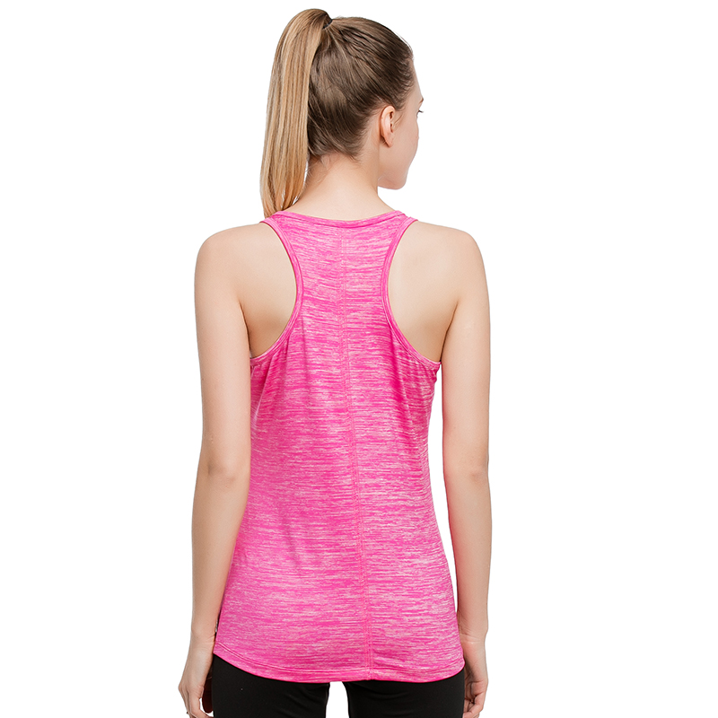 DANENJOY Fitness Running T Shirt Women Sports Shirt Sleeveless Breathable Sport Jersey Cool Loose Yoga Top Women Sport Tank Tops