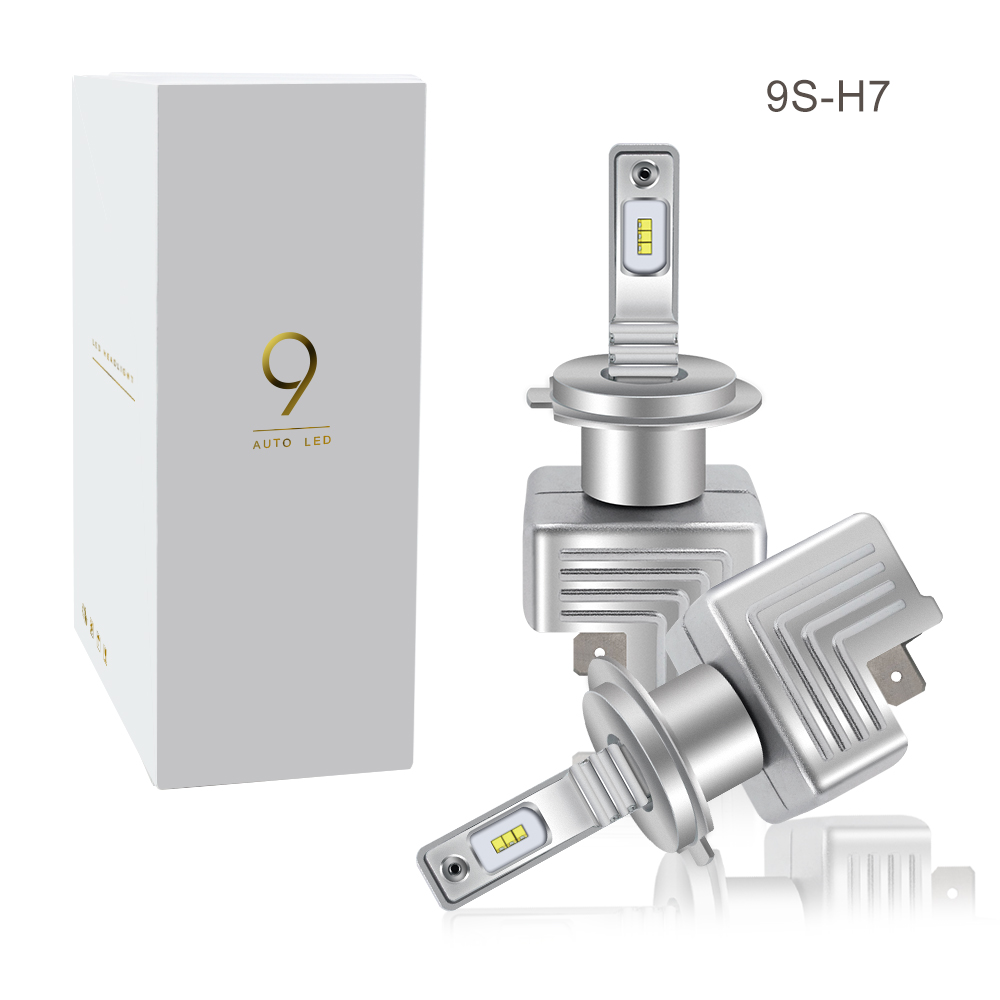 2PCS 2018 Newest H7 LED Canbus Car headlight bulbs H1 LED H4 H8 H9 H11 9005 HB3 9006 HB4 Car Lamps With Cree Chips 80W 12000LM pair 9600lm w cree cob chips h1 h3 h4 h7 h8 h9 h11 880 881 9005 9006 9012 car led headlight kit bulbs 6000k white
