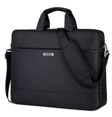 Prix pour Imperméable à l'eau 12 14 15 15.6 pouce sac D'ordinateur Portable pour hp lenovo sony dell ordinateur portable sac ordinateur sac pour hommes femmes porte-documents noir sac en nylon