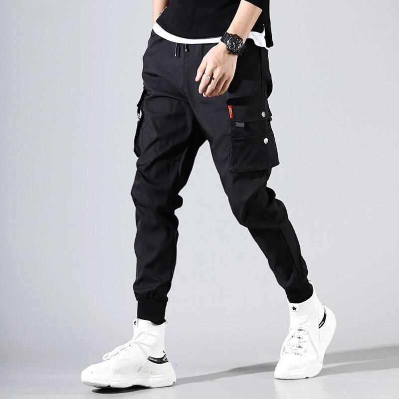 Jungen Kleidung Kenntnisreich Hip Hop Männer Pantalones Hombre Off White Kpop Casual Cargo Hosen Dünne Jogginghose Jogger Modis Streetwear Hosen Harajuku