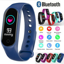 M3 And M3S Smart Watch Bracelet Color-screen Fitness Tracker blood pressure Heart Rate Monitor Smart band For Android IOS phone m3s color screen ip67 smart bracelet blood pressure heart rate monitor fitness tracker smart wrist band for android ios phone