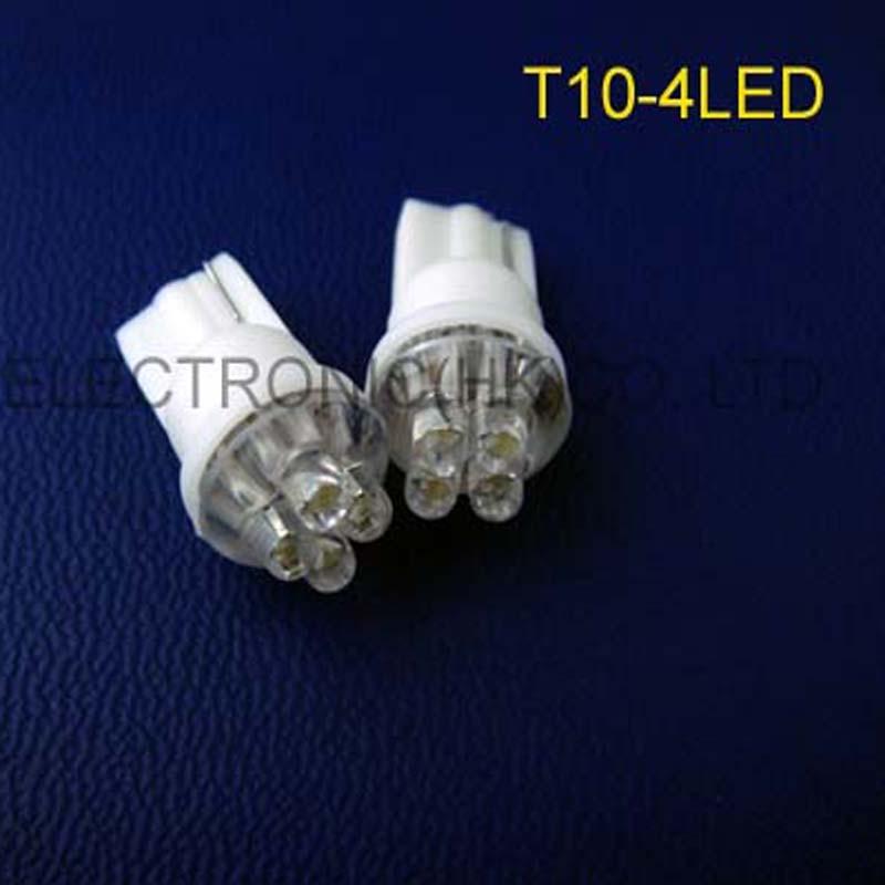 Light Bulbs High Quality 12v T10 Car Led Dashboard Warning Indicator,12v W5w 168 194 501 Led Instrument Lights Free Shipping 200pcs/lot At Any Cost