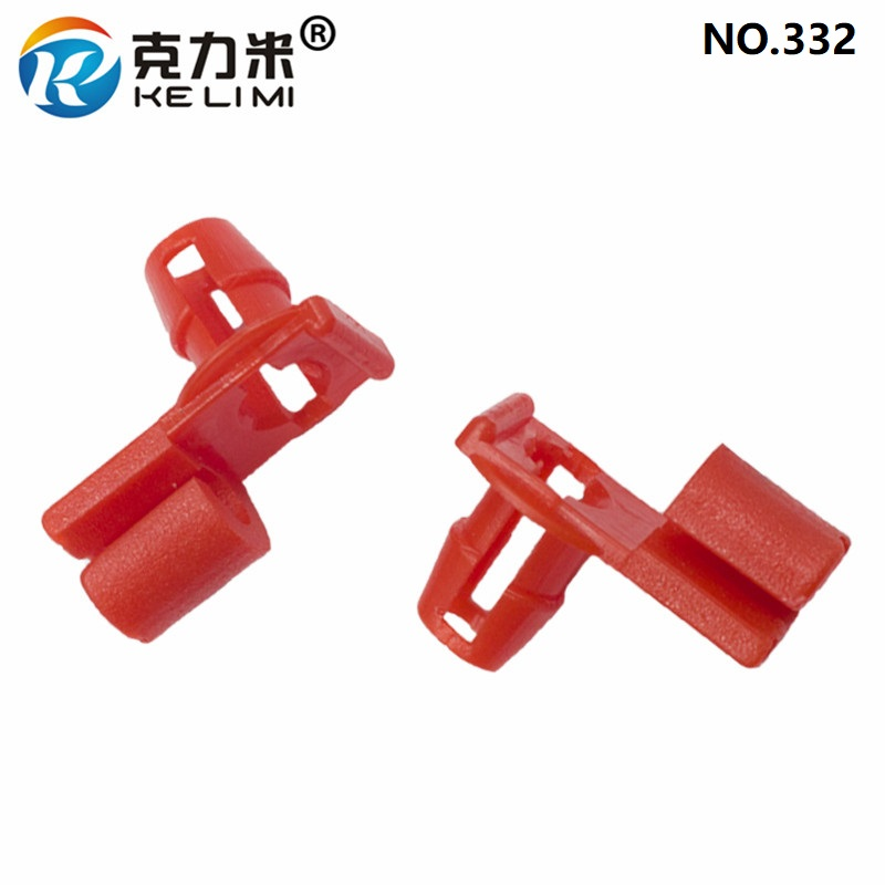KE LI MI Special Door Lock Buckle Red Interior Accessories Car Door Rod Lock in Auto Fastener Clip from Automobiles Motorcycles