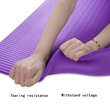183*61*1cm None-Slip Yoga Mat Exercise Pad Thick Non-slip Folding Gym Fitness Mat Pilates Supplies Mat +Bag+Tie Band цена