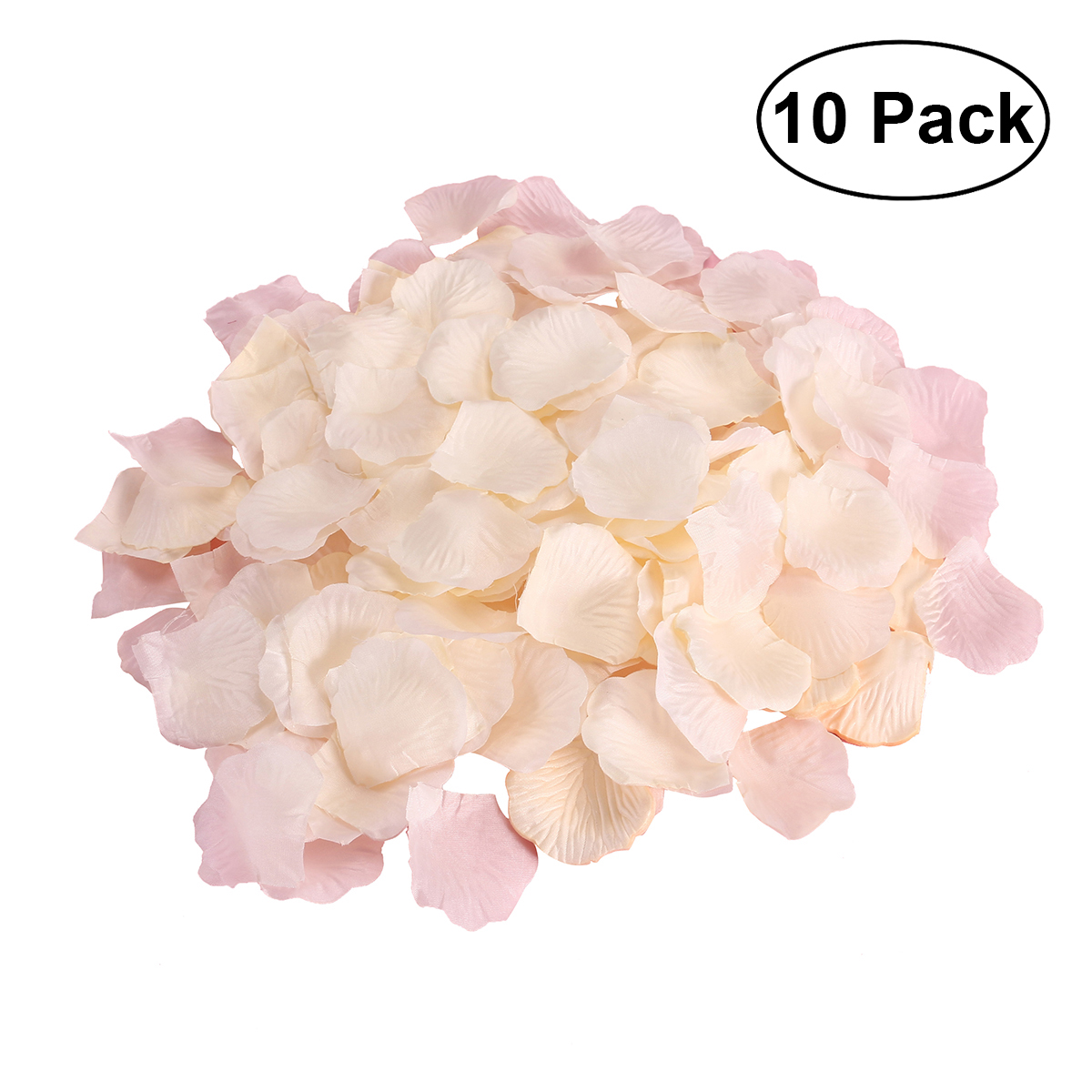 10 Pack Fake Rose Petals Artificial Wedding Flower Decoration