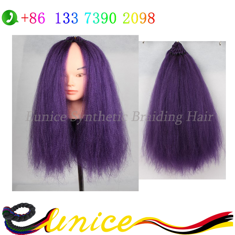 Synthetic Hair Extension Fluffy Cheap Yaki Straight Crochet Braiding Hairstyle African Brazilian Human Yaki Hairpiece For Women