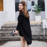 The New Spring And Summer Fashion New Loose Cardigan 300 Pounds Of Fat MM9 Long Sleeve