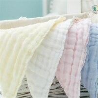 Bé mềm towel toddler sơ sinh khăn lau gạc đơn giản bib ăn nhỏ stuff bé towel tắm ấm cúng 70a0231