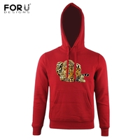 FORUDESIGNS Cool 3D Animal Leopard Print Men Women Hoodies Streetwear Hat Pocket Long Sleeve Top Clothes
