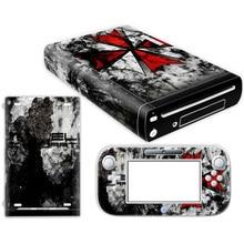 Hot sale ! for Wii U skin sticker made in China