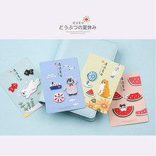 Cool Summer Cute animal embroidery cloth sticker Dog, cat, polar bear, penguin, watermelon dress patch DIY Garment Decoration