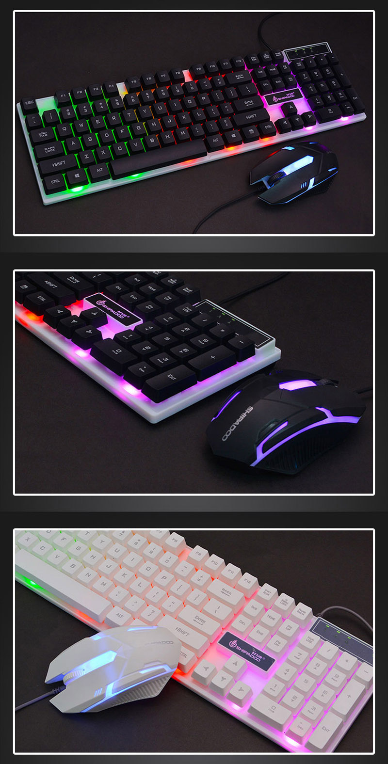K280 USB Wired Computer Keyboard (9)