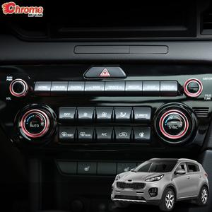 Ring-Cover Climate-Control Car-Accessories Kia Sportage Air-Con for QL Heater A/C Dials