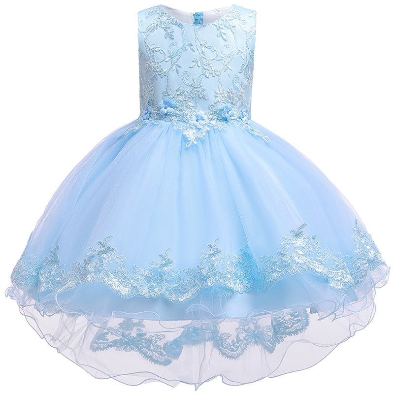 HTB1uVpPe8Cw3KVjSZR0q6zcUpXao - Kids Princess Dresses For Girls Clothing Flower Party Girls Dress Elegant Wedding Dress For Girl Clothes 3 4 6 8 10 12 14 Years