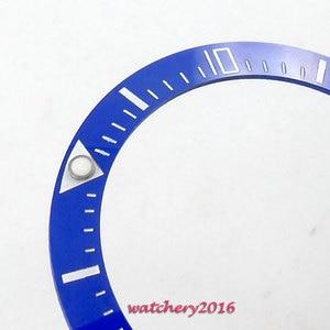 Image 2 - Hot Hoge Kwaliteit 39.9Mm Zwart Blauw Groene Keramische Bezel Insert ( 5 Kleur Gekozen) gemaakt Voor 44Mm Automatische Beweging Horloge