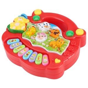 Image 5 - 2020 sıcak satış enstrüman oyuncak bebek çocuk hayvan çiftliği piyano gelişim müzik için eğitici oyuncaklar çocuk hediye