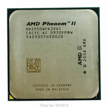 AMD Phenom II X2 550 3.1 GHz מעבד מעבד ליבה כפולה HDZ550WFK2DGI/HDX550WFK2DGM Socket AM3(China)