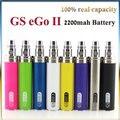 2200 mah batería eGo Ego batería II 2 E Cigarro cigarrillo electrónico para ce4 ce5 mt3 protank atomizador ego-t 510 hilo vs ego batería Giro