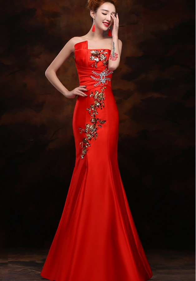 Free shipping Royal blue Sequined Prom Long   Evening     dresses   Marmaid abiti da sera de festa longo robe de soiree vestido TK1490
