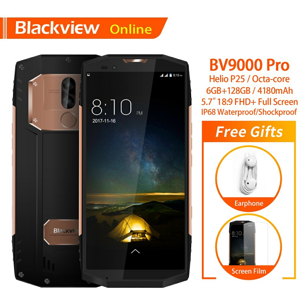 US $329 99 |Aliexpress com : Buy Blackview BV9000 Pro Original 5 7