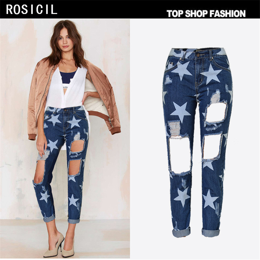 Online Buy Wholesale popular womens jeans from China popular ...