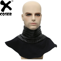 XCOSER Star Wars The Force Awakens Kylo Ren Neck Scarf Costume Cosplay Accessories Wool Collar Scarf Halloween Party 46cm 54cm