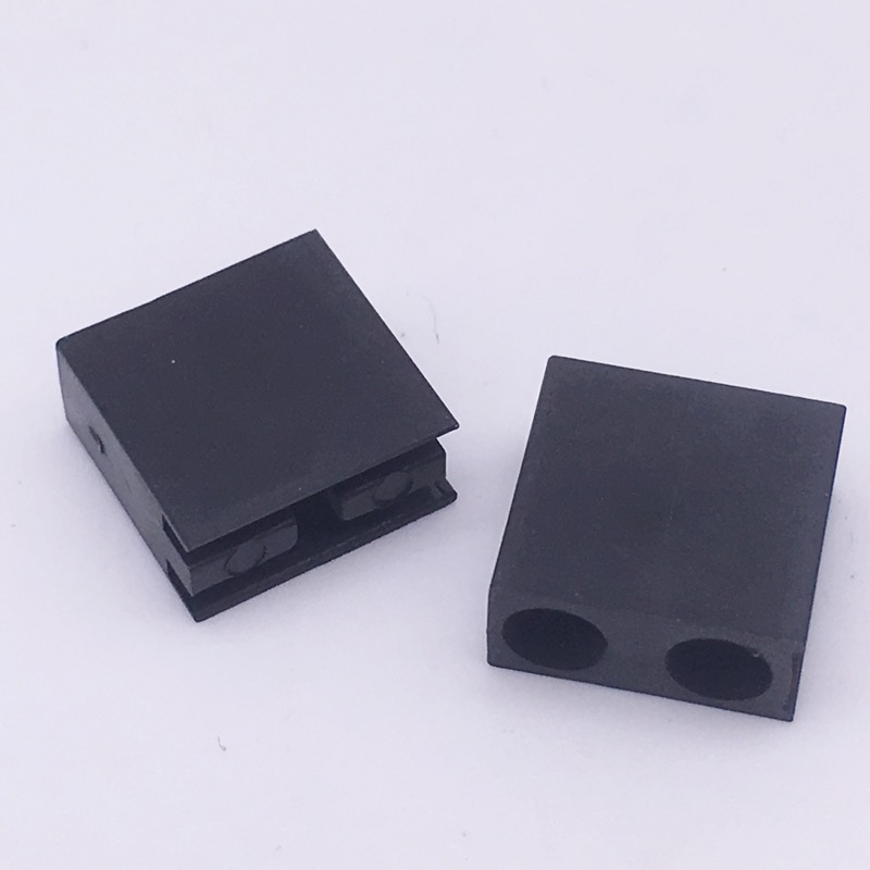 20//100Pcs Nylon PCB Support Spacer Plastic Circuit Board River Black//White