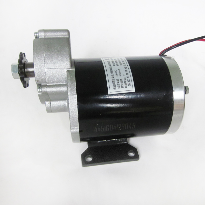 Brush Motor 48V 450W Decelerating Motor for Electric Tricycle Scooter Unite Motor