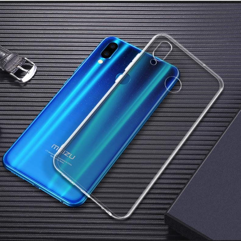 Ultra Thin Transparent Soft TPU Cover For <font><b>Meizu</b></font> Note 9 U10 U20 Clear Silicone <font><b>Case</b></font> For <font><b>Meizu</b></font> M5S <font><b>M6S</b></font> M5C M5 M6 Note Pro 7 Coque image