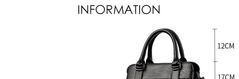 Women Bag 2019 New Women Messenger Bags Fashion Pu Leather Shoulder Bags Handbags Famous Brands, Big Crossbody Bags For Women 7