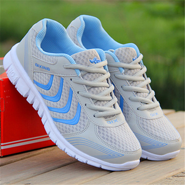 Women Sneakers 2018 Fast Delivery Breathable Running Shoes Light Sport Tennis Basketball Sneakers Shoes Woman Chaussures Femme