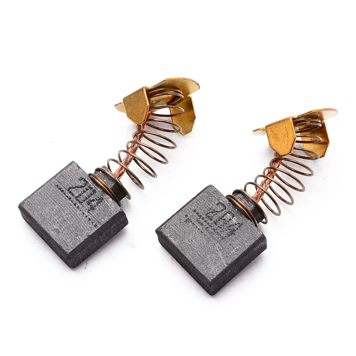 High Quality 1 Pair Carbon Brushes for CB 204 CB204 GA9012C GA9020R GA9030R GA9050R Electric Drill Carbon Brush in Brush from Tools