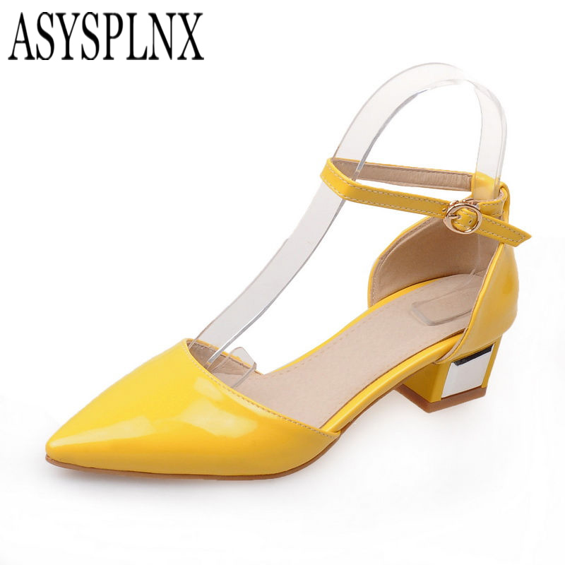 Popular Yellow Sandals Heels-Buy Cheap Yellow Sandals Heels lots ...
