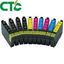10 PCS 16XL T1631 1632 ink cartridge for INK WorkForce WF-2010W WF-2510WF WF-2520NF WF-2530DW WF-2540WF WF-2750DWF 2760DWF