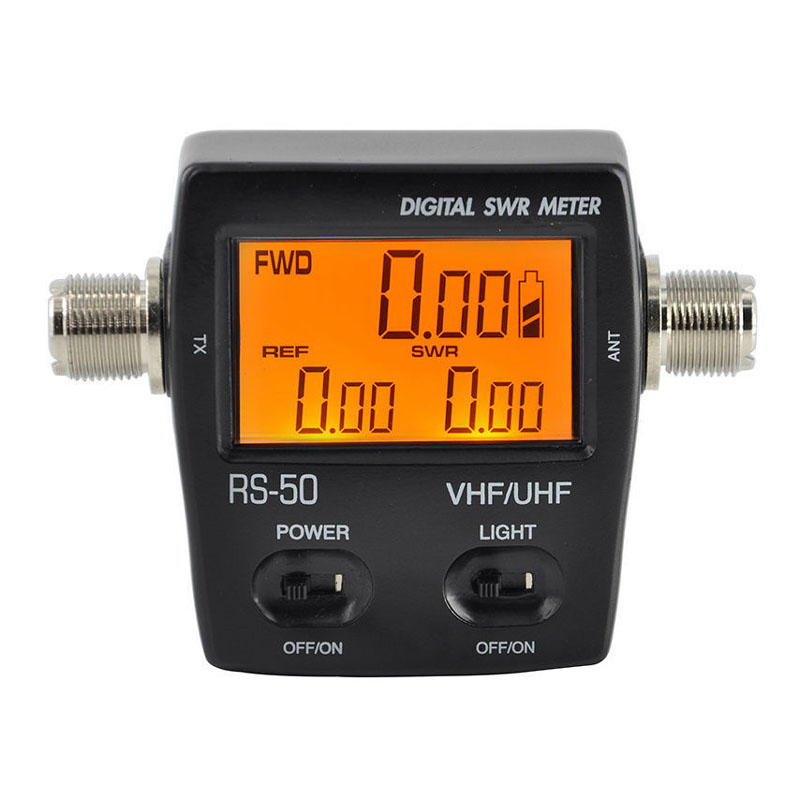 все цены на RS-50 Digital LED Backlight SWR Standing Wave Ratio Electricity Power Meter KWH Single Phase 120W for HAM UHF VHF USB Interface онлайн