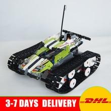 2018 Lepin 20033 397pcs Technic Series Remote control caterpillar vehicles Building Blocks Bricks Educational Toys 42065