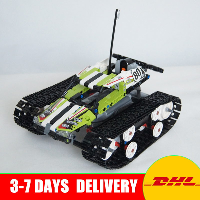 2018 Lepin 20033 397pcs Technic Series Remote control caterpillar vehicles Building Blocks Bricks Educational Toys 42065