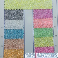Glitter Leather Fabric P011
