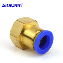 PCF Air Pipe Fitting 10mm 12mm 8mm 6mm Hose Tube 1/8