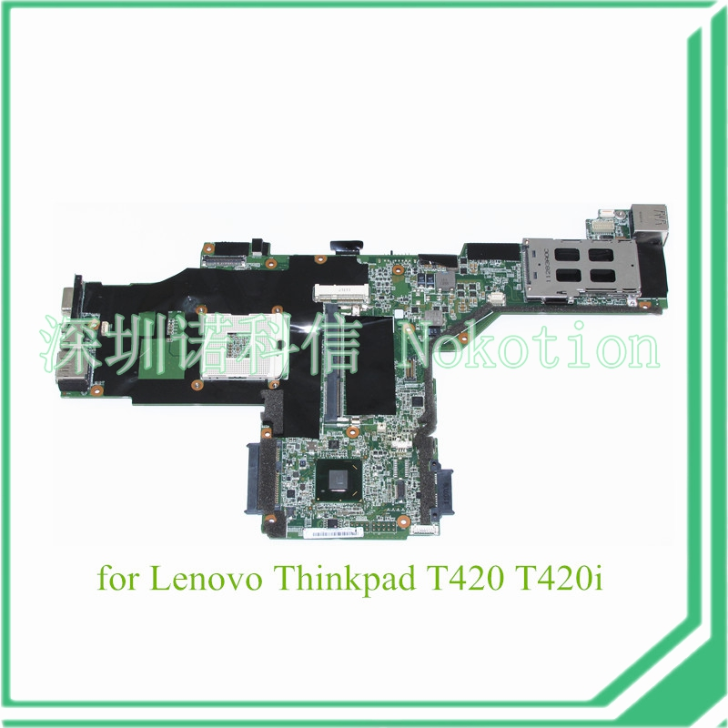 NOKOTION FRU 63Y1697 For lenovo thinkpad T420 T420I laptop motherboard QM67 DDR3 fru 63y1896 for lenovo thinkpad w510 laptop motherboard qm67 ddr3 nvidia quadro fx 880m 15 6 inch