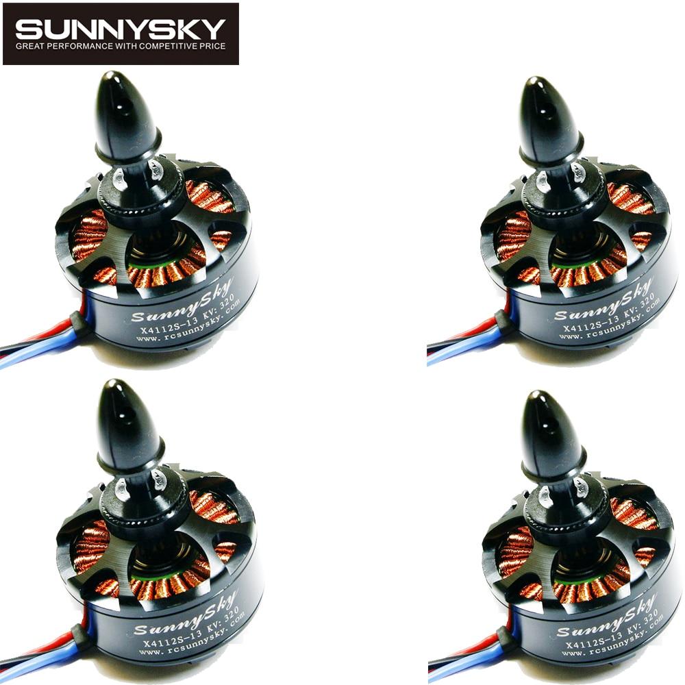 4pcs/lot SUNNYSKY X4112S 320KV/400KV/485KV Outrunner Brushless Motor for Multi-rotor Aircraft