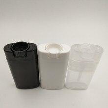 купить 21pcs/lots 15ml plastic refillable deodorant tube empty Oval Lip Balm Tubes Lipstick container with good quality дешево