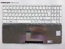 лучшая цена IT Italian keyboard for Toshiba Satellite L50-B L50D-B L50T-B white  Without Frame keyboard IT Layout