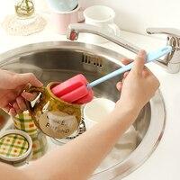 Esponja de lavar copo escova de limpeza punho longo escova nano escova copo 36216
