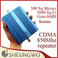 Marketing direto CDMA 850 MHz 500 metros quadrados 60dB Ganho CDMA 850 MHz Telefone Celular Amplificador de sinal repetidor impulsionador