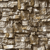 4 Color New 3D Rock Stone Wallpaper